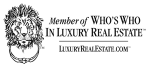 Member of Who's Who in Luxury Real Estate