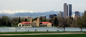 Denver, CO from City Park