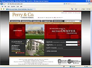 PerryAndCo.com Homepage