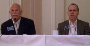 Jim Walberg & Jon Larrance at the Luxury Real Estate Spring Conference 2009