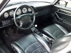 1997 Porsche 911 Carrera 4S Interior