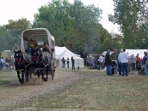 Four Mile Historic Park 2009 Pumpkin Festival - Wagons
