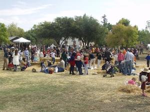 Four Mile Historic Park 2009 Pumpkin Festival - Scarecrow Building