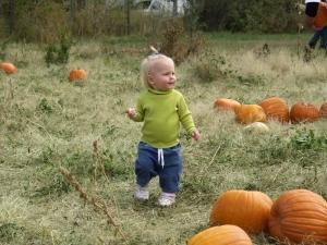 Four Mile Historic Park 2009 Pumpkin Festival - Pumpkin Patch Kid